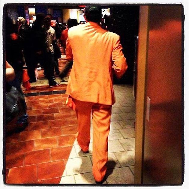 """The Great Pumpkin has arrived at AT&T Park"" - @jeffpassan #worldseries"