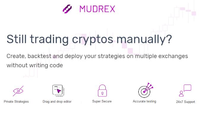 Mudrex helps crypto traders automate their trading on multiple