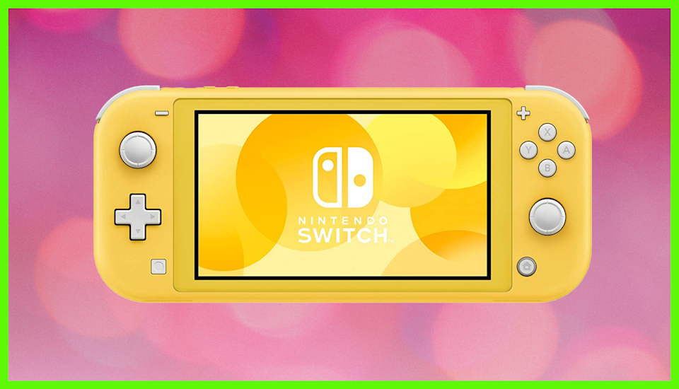 The Nintendo Switch Lite is back, more affordable than ever, and gorgeous. (Photo: Amazon)