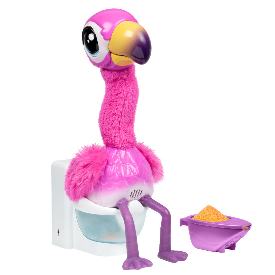 Little Live Pets Gotta Go Flamingo, Dancing, Wiggling, & Pooping Toy is one of Walmart's top rated toys for 2020.