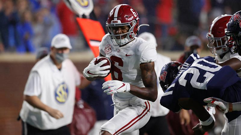 Alabama allows 21 points to Ole Miss in historic first half