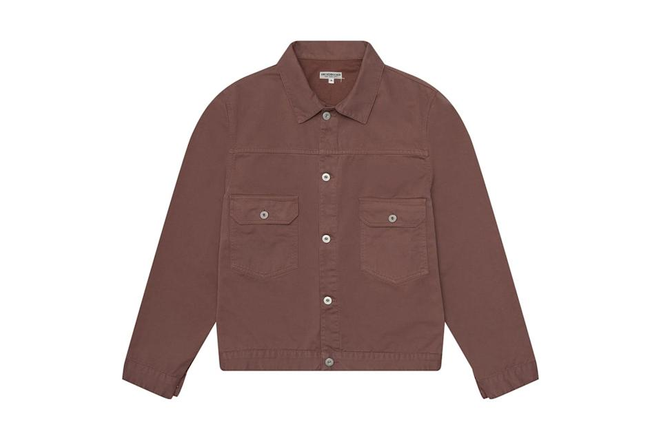 "$255, Huckberry. <a href=""https://huckberry.com/store/knickerbocker/category/p/61924-truckee-jacket"" rel=""nofollow noopener"" target=""_blank"" data-ylk=""slk:Get it now!"" class=""link rapid-noclick-resp"">Get it now!</a>"