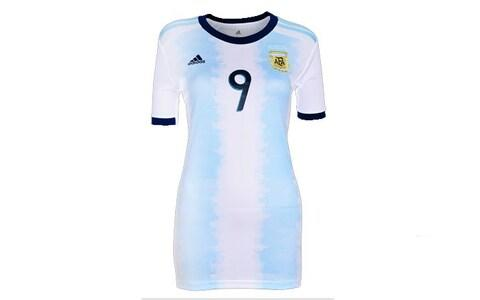 Argentina home kit, 2019 Women's World Cup - Credit: Adidas