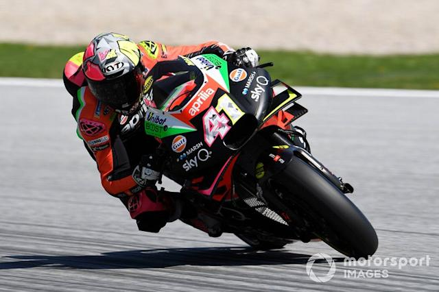 "Aleix Espargaro, Aprilia Racing Team Gresini <span class=""copyright"">Gold and Goose / LAT Images</span>"