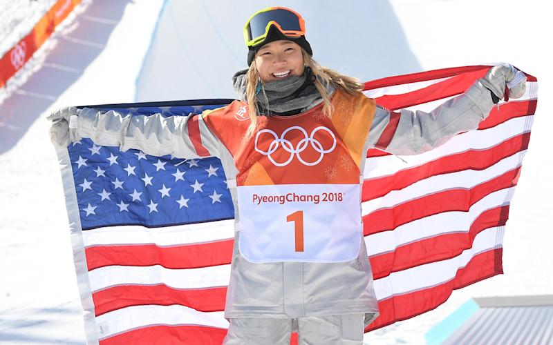Never mind the Olympic gold medal Chloe - what are those cool goggles you're wearing? - This content is subject to copyright.
