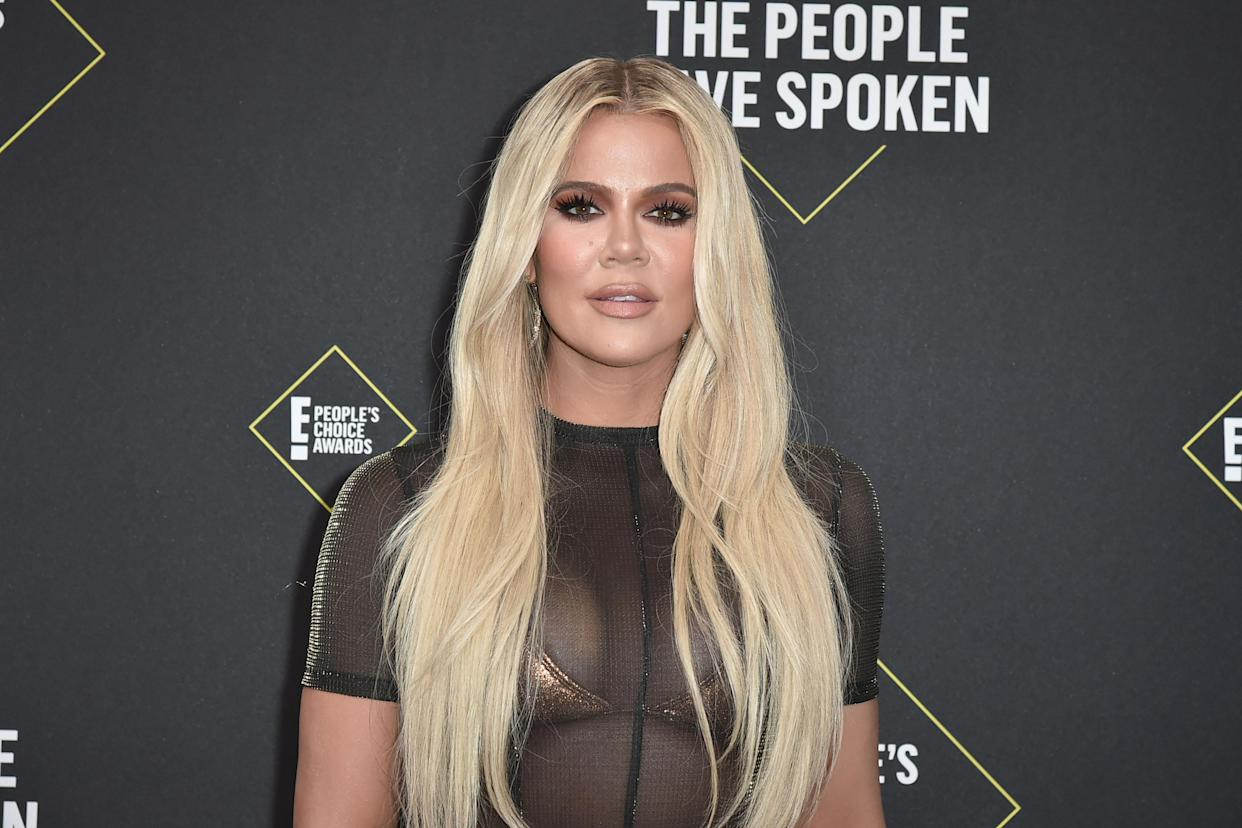Khloé Kardashian on her inclusive clothing brand and teaching daughter, True, good habits. (Photo: Getty Images)
