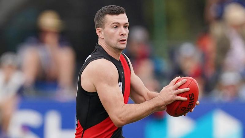 Conor McKenna is one of two Essendon players that will be quarantined due to COVID-19 restrictions