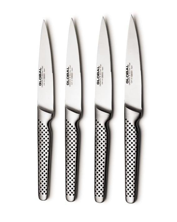 <p>A discerning home cook will love these <span>Global Classic Steak Knives</span> ($170 for a set of four).</p>