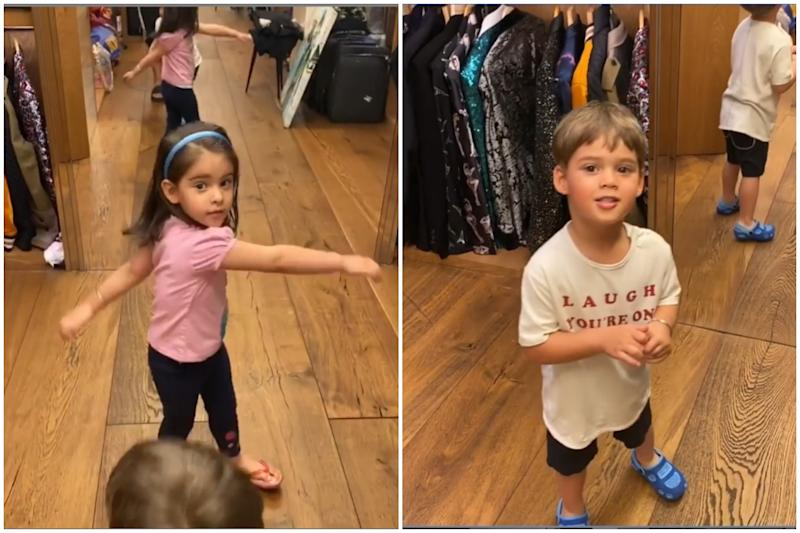 Karan Johar's Twins Yash and Roohi Take a Tour of His Closet and Diss Everything