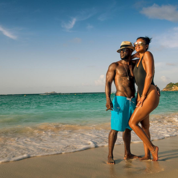 Did you wonder who was taking the #dopepics of Kevin Hart's honeymoon? We did, so we found out. (Photo: Instagram)