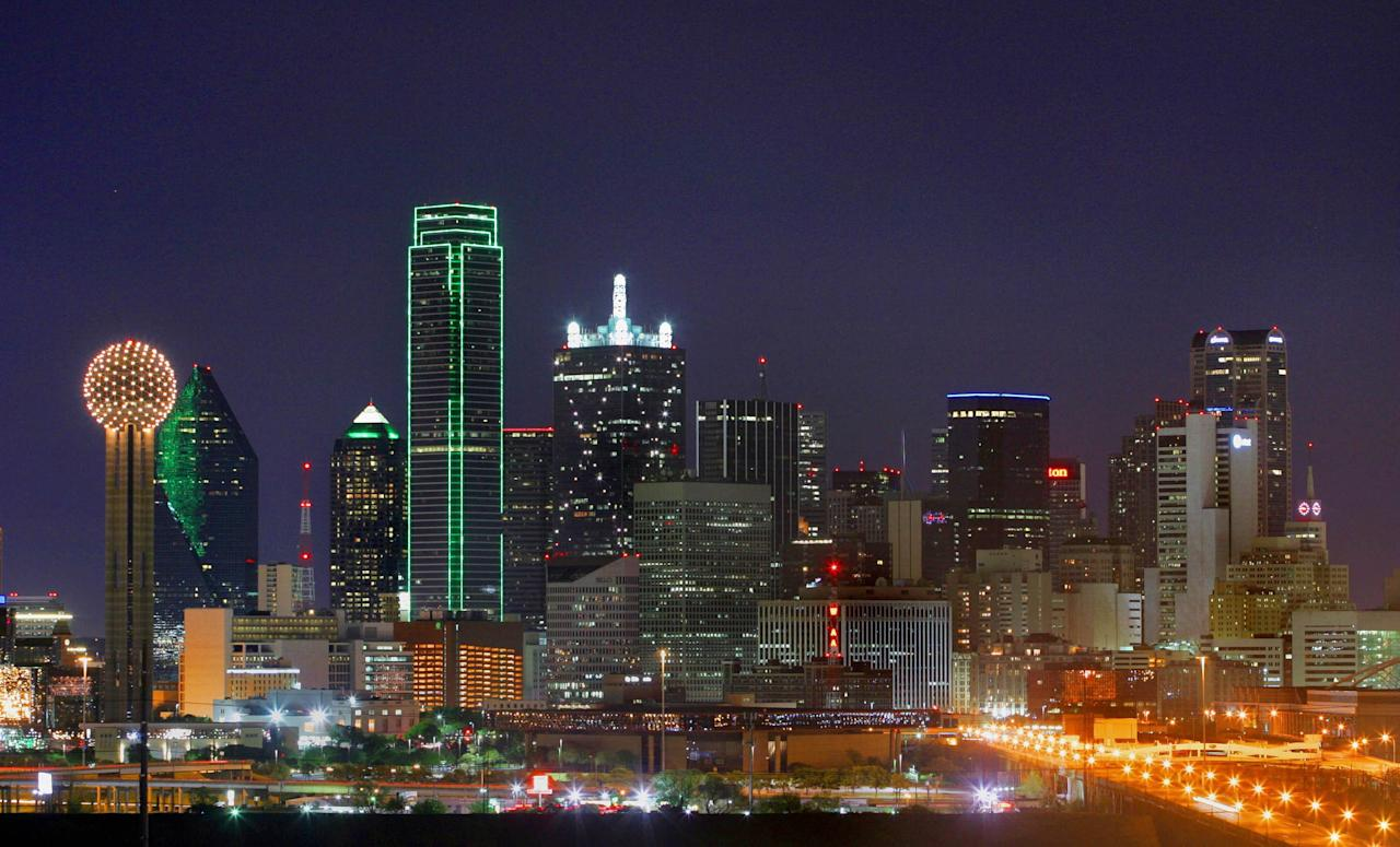 Dallas skyline Dallas, Texas - 21.12.11 WENN/Cherokee Michaels