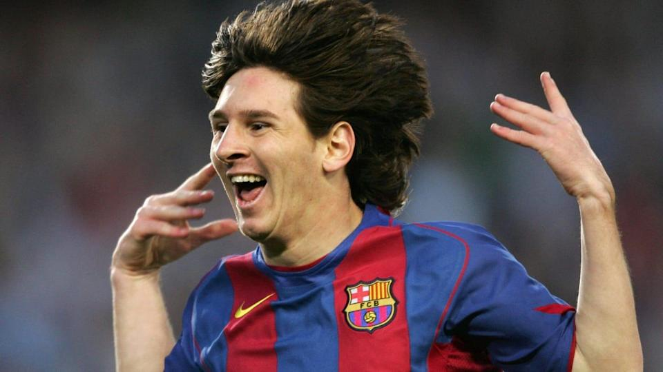 FC Barcelona's Argentinian Messi celebra | LLUIS GENE/Getty Images