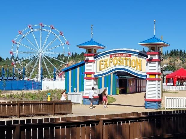 Fort Edmonton Park reopens to the public Thursday after being closed for nearly three years to undergo renovations. (Art Raham/ CBC - image credit)