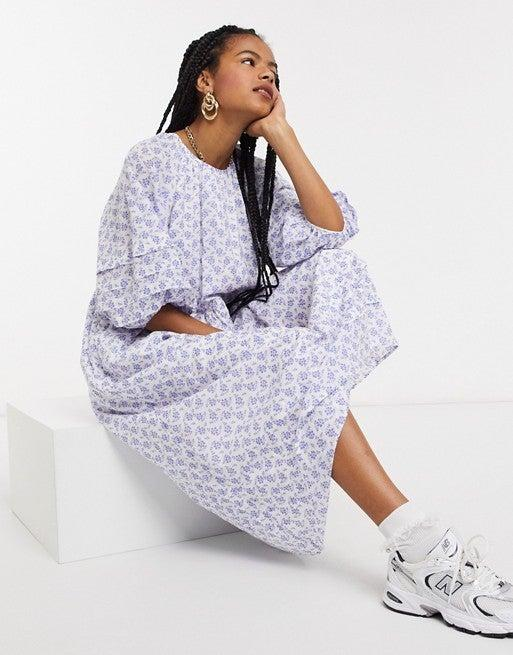 "<br><br><strong>& Other Stories</strong> & Other Stories Floral Smocked Maxi Dress, $, available at <a href=""https://go.skimresources.com/?id=30283X879131&url=https%3A%2F%2Fwww.asos.com%2Fus%2Fother-stories%2Fother-stories-eco-floral-print-smock-maxi-dress-in-white%2Fprd%2F20674387%3F"" rel=""nofollow noopener"" target=""_blank"" data-ylk=""slk:ASOS"" class=""link rapid-noclick-resp"">ASOS</a>"