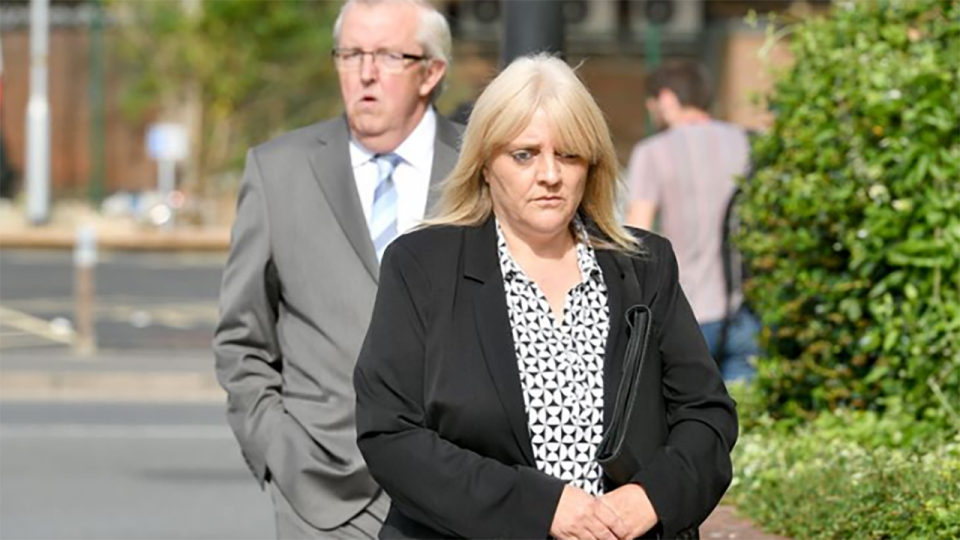 Pictured here, Sherry Bray and Christopher Ashford outside a British court.