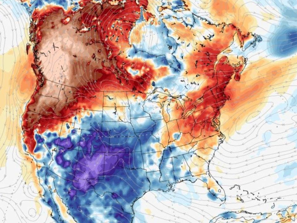 The climate crisis is driving a dangerous heatwave in the US Pacific Northwest and Canada with temperature records being shattered  (karstenhaustein.com/climate)