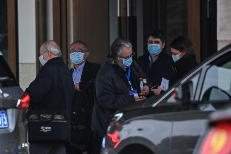 WHO experts continued their investigation in Wuhan, China, where the coronavirus first emerged in late 2019