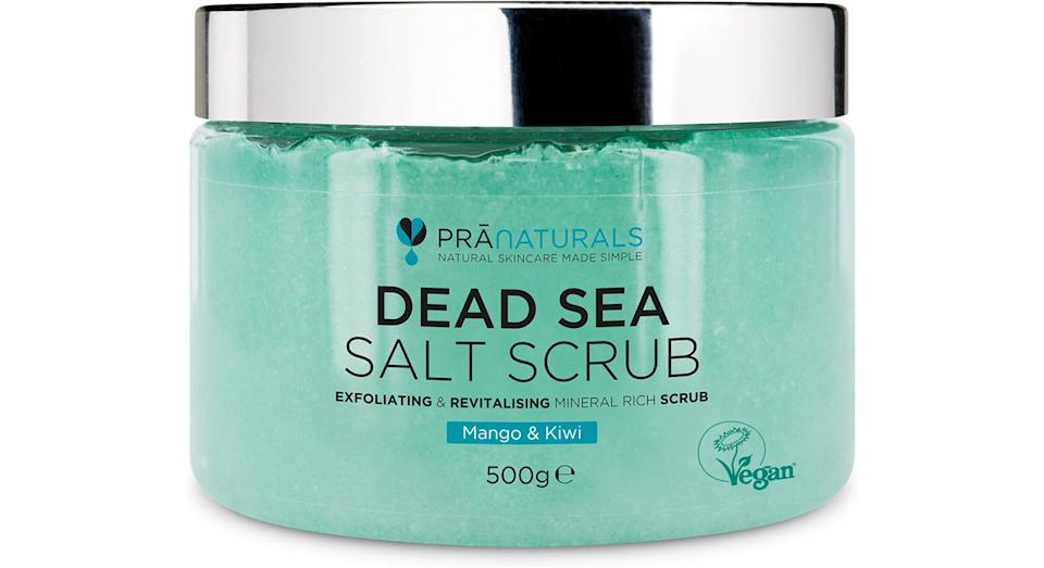 PraNaturals Revitalising Dead Sea Body Scrub