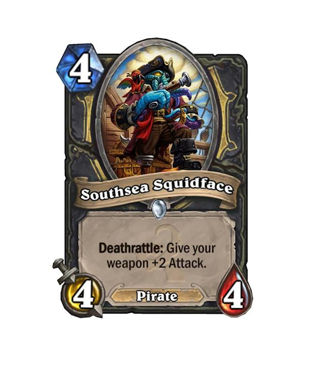 <p>Those of us at Yahoo Esports are always up for some more pirates, and this Squidface doesn't sound like a terrible option. If only Blade Flurry hadn't been nerfed…</p>