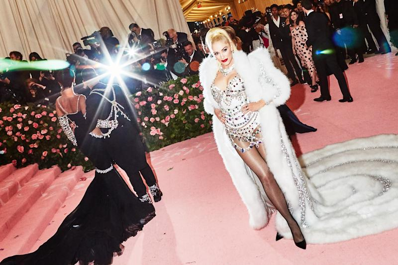 Gwen Stefani on the red carpet at the Met Gala in New York City on Monday, May 6th, 2019. Photograph by Amy Lombard for W Magazine.