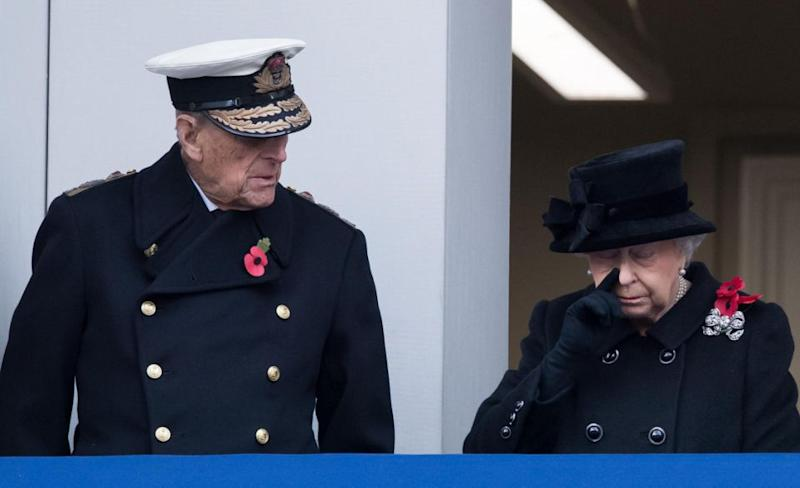 Prince Philip openly dotes on his wife, say experts. Photo: Getty