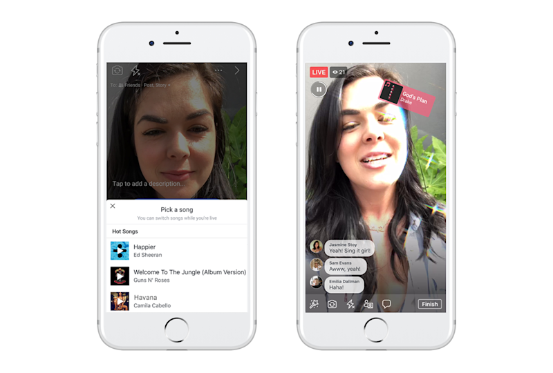 VIDÉO | Chanter en play-back, la nouvelle option de Facebook