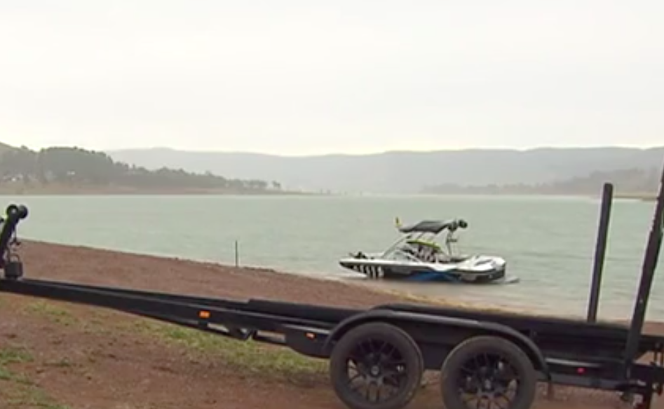 A five-year-old boy has died after a boating tragedy at Lake Eildon in Bonnie Doon. Source: 7News