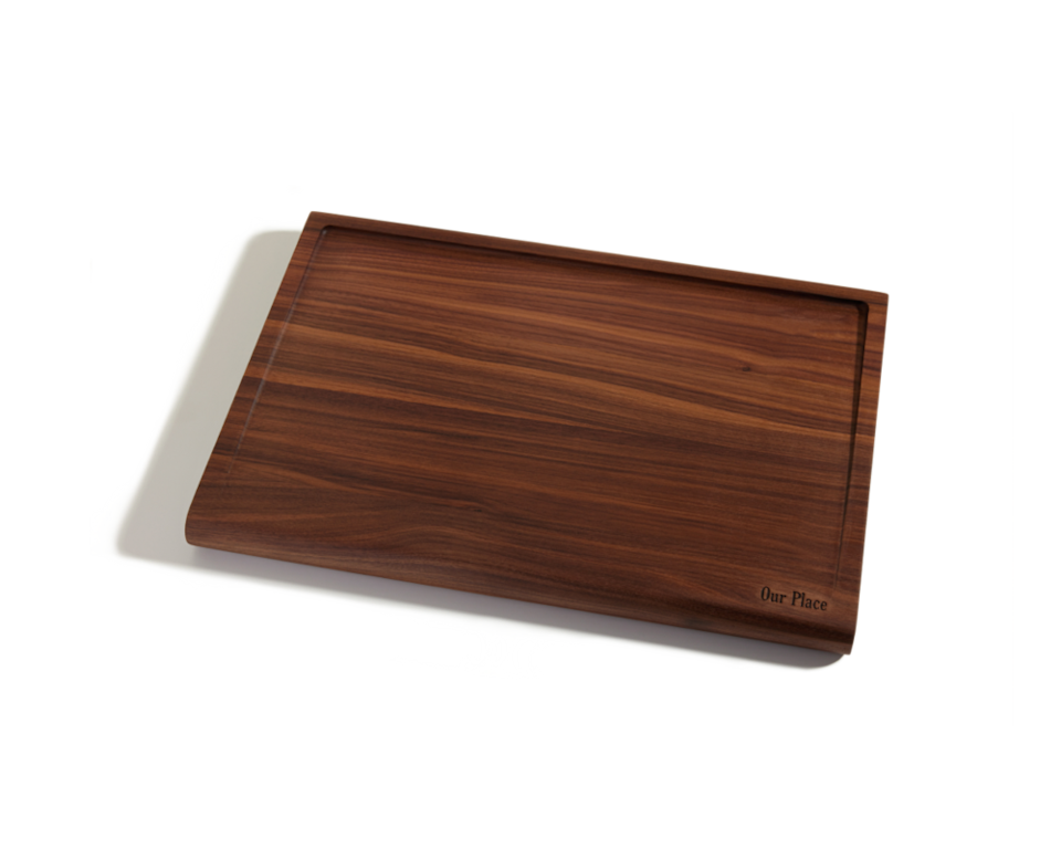 Walnut Cutting Board by Our Place.