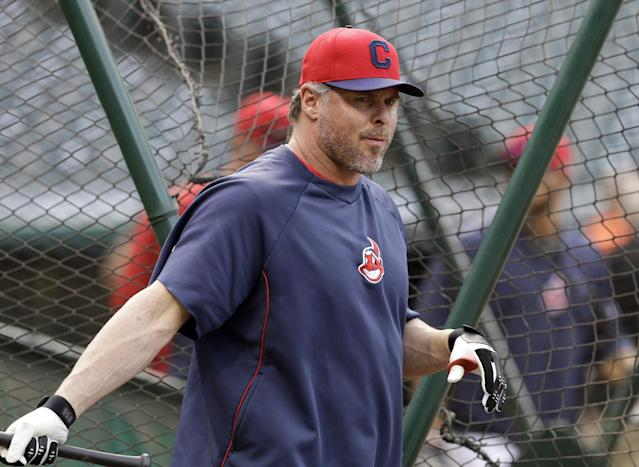 Jason Giambi back in Indians lineup