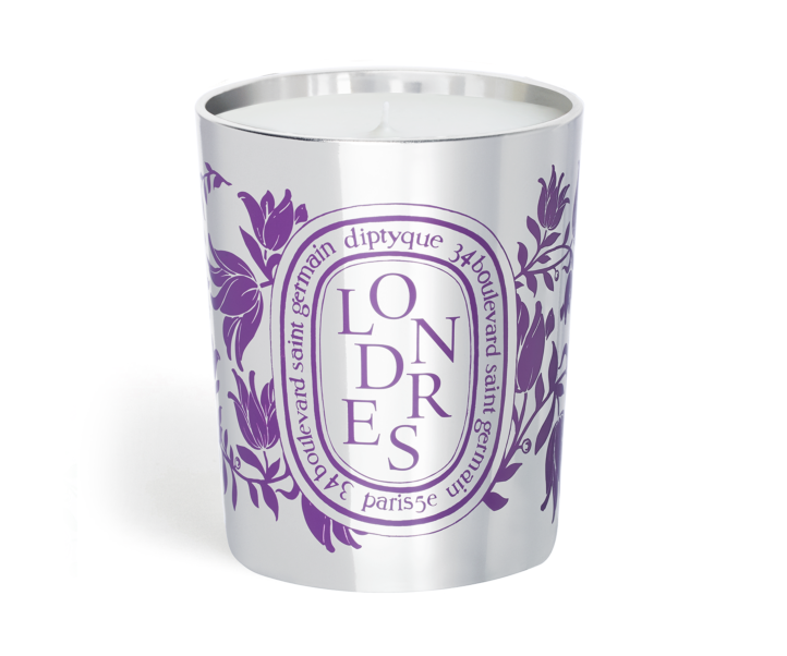 """<p><strong>diptyque</strong></p><p>diptyqueparis.com</p><p><strong>$76.00</strong></p><p><a href=""""https://go.redirectingat.com?id=74968X1596630&url=https%3A%2F%2Fwww.diptyqueparis.com%2Fen_us%2Fp%2Flondon-candle.html&sref=https%3A%2F%2Fwww.townandcountrymag.com%2Fstyle%2Fg36132547%2Fdiptyque-city-candles-spring-2021-relaunch%2F"""" rel=""""nofollow noopener"""" target=""""_blank"""" data-ylk=""""slk:SHOP NOW"""" class=""""link rapid-noclick-resp"""">SHOP NOW</a></p><p>Diptyque's London candle offers a trip across the pond—minus the jet lag. The notes of heliotrope, lilac, juniper, and hyacinth mimic an English flower market.</p>"""