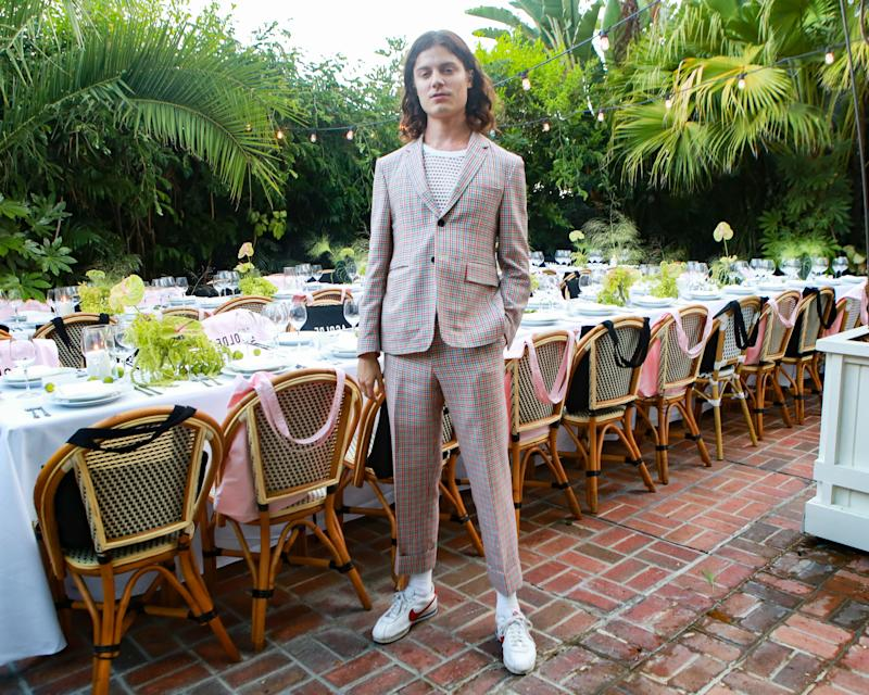 BØRNS celebrate the launch of Eighty-Nine Issue N04 in partnership with Shopbop at L.A.'s Chateau Marmont on July 26th, 2018.