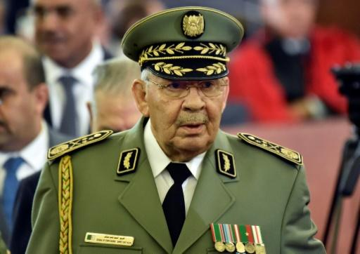 Ahmed Gaid Salah was a veteran of Algeria's war for independence from France