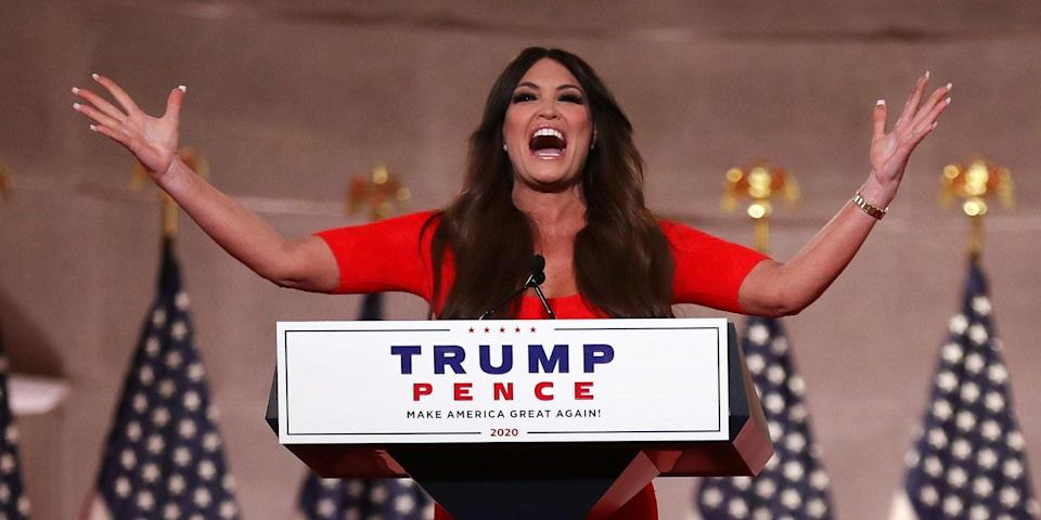 <p>Former <em>Fox News</em> host Kimberly Guilfoyle has been named national chair of Eric Greitens' Senate campaign</p> (Getty Images)