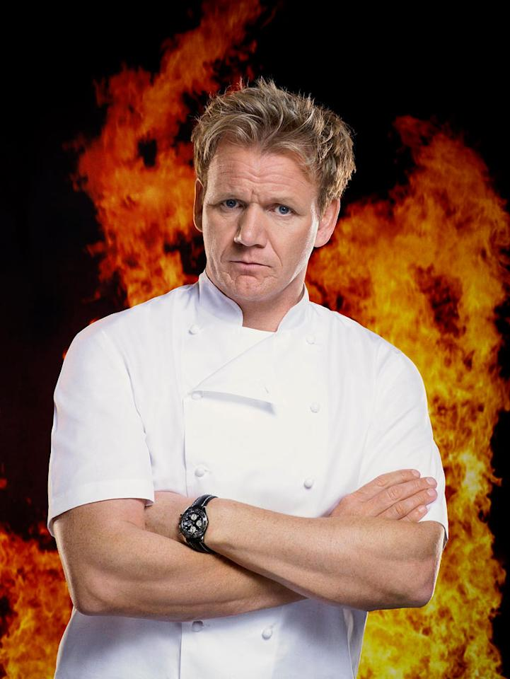 "Sharp-tongued celebrity chef Gordon Ramsay returns for a fifth season of this intense culinary competition which pits 12 ambitious chefs from all walks of life (from culinary students to caterers) against each other to compete for the job of a lifetime. While living together in Los Angeles, the contestants take on cooking challenges and work as teams to put on weekly dinner services in a makeshift <a href=""/hell-39-s-kitchen-fox/show/37348"">""Hell's Kitchen""</a> restaurant. Ramsay's temper tends to flare up during dinner service, when his prodigies don't live up to his standards. Each week another competitor is eliminated, until one is rewarded with a coveted chef's job at a fine-dining restaurant (past seasons' winners have become chefs at Las Vegas hotels and, most recently, at Ramsay's own West Hollywood restaurant). <a href=""/hell-39-s-kitchen-fox/show/37348"">Thursdays at 9pm ET on Fox</a>"