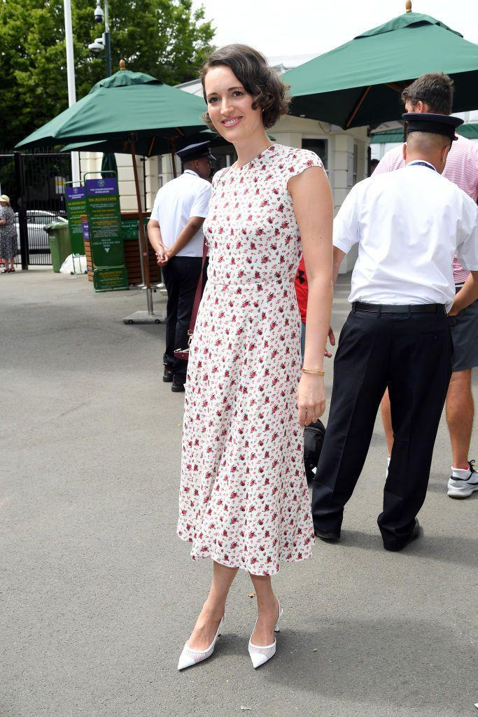 <p>The Fleabag creator and actress attended the championships.</p>