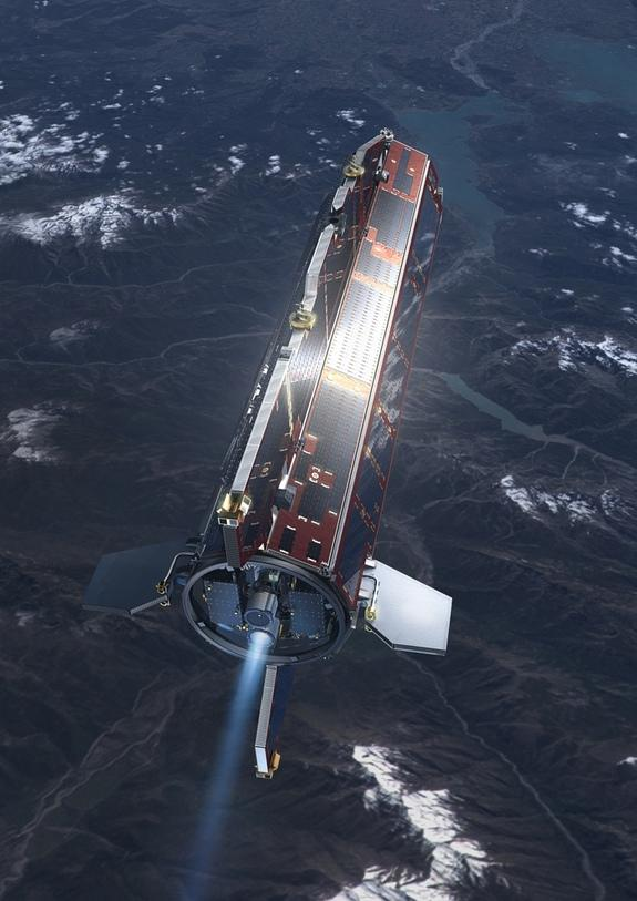 European Satellite, Out of Fuel, Will Plunge to Earth Next Month