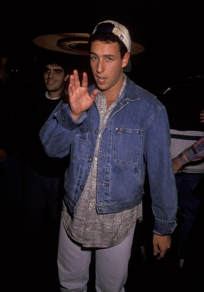 <p>In 1990, Sandler was scouted by Dennis Miller at a comedy club in Los Angeles. After an introduction to Lorne Michaels, Sandler signed on as the show's newest writer.  </p>