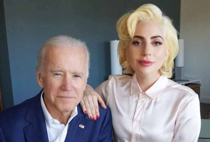 """Lady Gaga and Joe Biden released a video to announce their new sexual assault prevention campaign, """"It's On Us"""""""