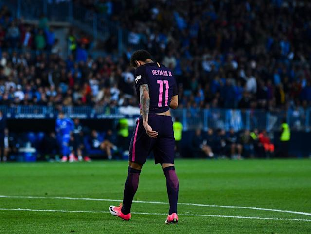 Neymar only had himself to blame (Getty)