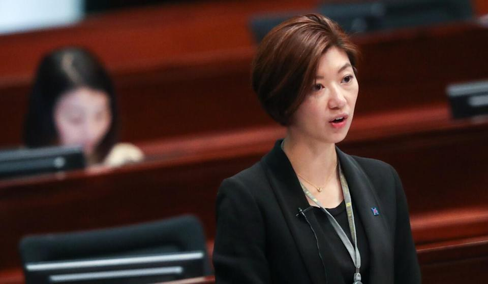 Lawmaker Eunice Yung has been among those putting pressure on Hong Kong's arts community. Photo: Nora Tam