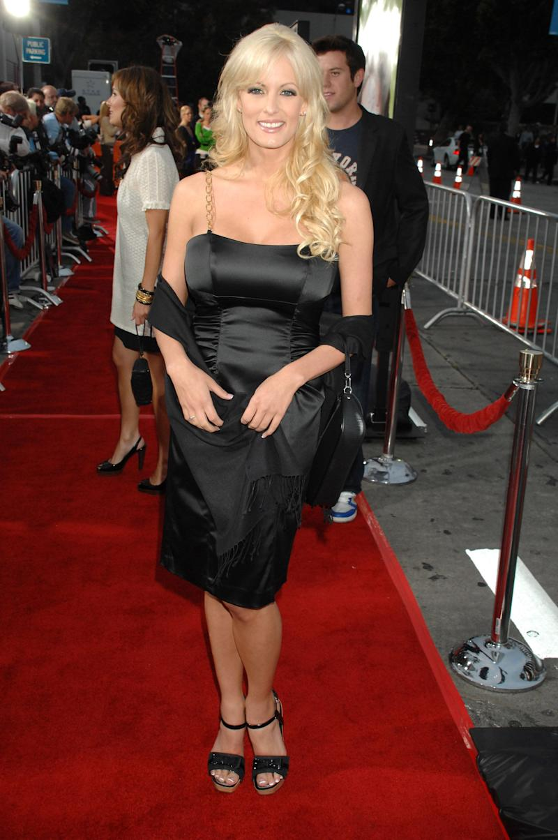 """At the""""Knocked Up"""" premiere in Los Angeles."""