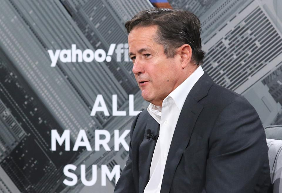 NEW YORK, NEW YORK - OCTOBER 10: Chief Executive of Barclays Jes Staley attends the Yahoo Finance All Markets Summit at Union West Events on October 10, 2019 in New York City. (Photo by Jim Spellman/Getty Images)