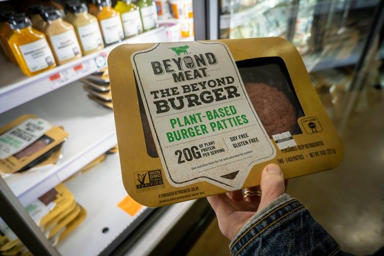 """<span class=""""caption"""">Major supermarkets have added multiple vegan products to their shelves this year in a bid to meet growing demand.</span> <span class=""""attribution""""><span class=""""source"""">Shutterstock</span></span>"""