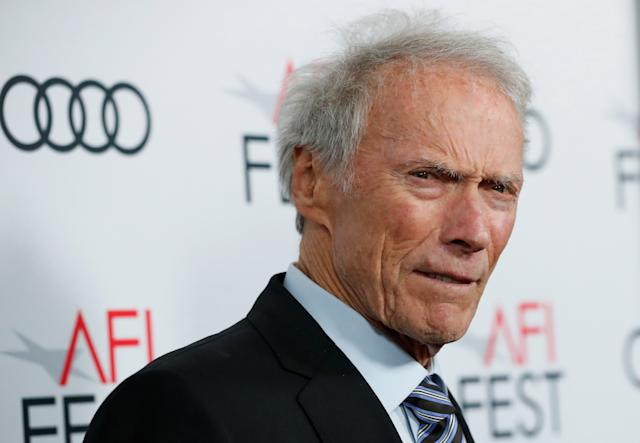 """Director Clint Eastwood poses at the premiere for the movie """"Richard Jewell"""" in Los Angeles, California, U.S., November 20, 2019. REUTERS/Mario Anzuoni"""
