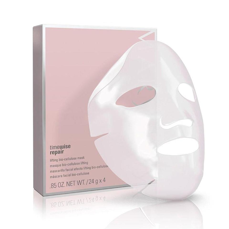 """<p>Perfect for a concentrated, 20- to 30-minute dose of hydration, Mary Kay's TimeWise Repair Lifting Bio-Cellulose Mask is packed with oat kernel extract, orchid extract, and sodium hyaluronate (a form of <a href=""""https://www.allure.com/story/what-is-hyaluronic-acid-skin-care?mbid=synd_yahoo_rss"""" rel=""""nofollow noopener"""" target=""""_blank"""" data-ylk=""""slk:hyaluronic acid"""" class=""""link rapid-noclick-resp"""">hyaluronic acid</a>) for the ultimate pampering session. The bio-cellulose material ensures a <a href=""""https://www.allure.com/gallery/best-sheet-masks-for-every-budget?mbid=synd_yahoo_rss"""" rel=""""nofollow noopener"""" target=""""_blank"""" data-ylk=""""slk:snug, face-hugging fit"""" class=""""link rapid-noclick-resp"""">snug, face-hugging fit</a> that won't slip around if you need to move around. But, to make the most out of this 2020 <em>Allure</em> <a href=""""https://www.allure.com/story/best-of-beauty-awards-2020?mbid=synd_yahoo_rss"""" rel=""""nofollow noopener"""" target=""""_blank"""" data-ylk=""""slk:Best of Beauty"""" class=""""link rapid-noclick-resp"""">Best of Beauty</a> winner, we recommend not letting yourself not lift a finger. After all, you deserve the break.</p> <p><strong>$70</strong> (<a href=""""https://www.marykay.com/en-us/products/all/timewise-repair-lifting-biocellulose-mask-301079"""" rel=""""nofollow noopener"""" target=""""_blank"""" data-ylk=""""slk:Shop Now"""" class=""""link rapid-noclick-resp"""">Shop Now</a>)</p>"""