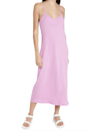 """For a pop of color and casual outdoor vibe, this simple lavender slip dress delivers. (Backyard wedding, anyone?) $63, Amazon. <a href=""""https://www.amazon.com/SUPPLY-Womens-Organic-Violet-Medium/dp/B096H97NY4"""" rel=""""nofollow noopener"""" target=""""_blank"""" data-ylk=""""slk:Get it now!"""" class=""""link rapid-noclick-resp"""">Get it now!</a>"""