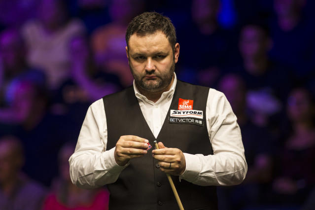 Stephen Maguire has one Triple Crown title to his name - the 2004 UK Championship