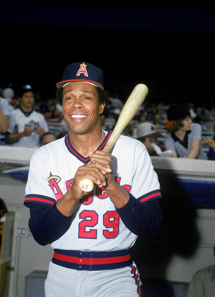 """<p>First baseman Rod Carew <a href=""""https://www.baseball-reference.com/players/c/carewro01.shtml"""" target=""""_blank"""">won batting titles in 1977 and 1978</a>,  hitting .388 and .333, while playing for the Twins. He was traded in 1979 to the California Angels, who <a href=""""https://sabr.org/research/mlbs-annual-salary-leaders-1874-2012"""" target=""""_blank"""">paid him a hefty $800,000</a>, making him the highest-paid player in the MLB—and all other sports. <a href=""""https://sabr.org/research/mlbs-annual-salary-leaders-1874-2012""""><br></a></p>"""