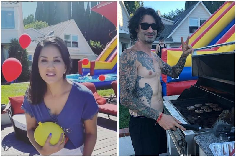 Sunny Leone Pulls Prank on Husband Daniel Weber for Not Helping Her Around the House