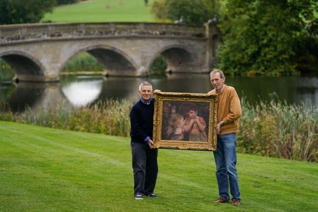 New painting by Sir Joshua Reynolds discovered